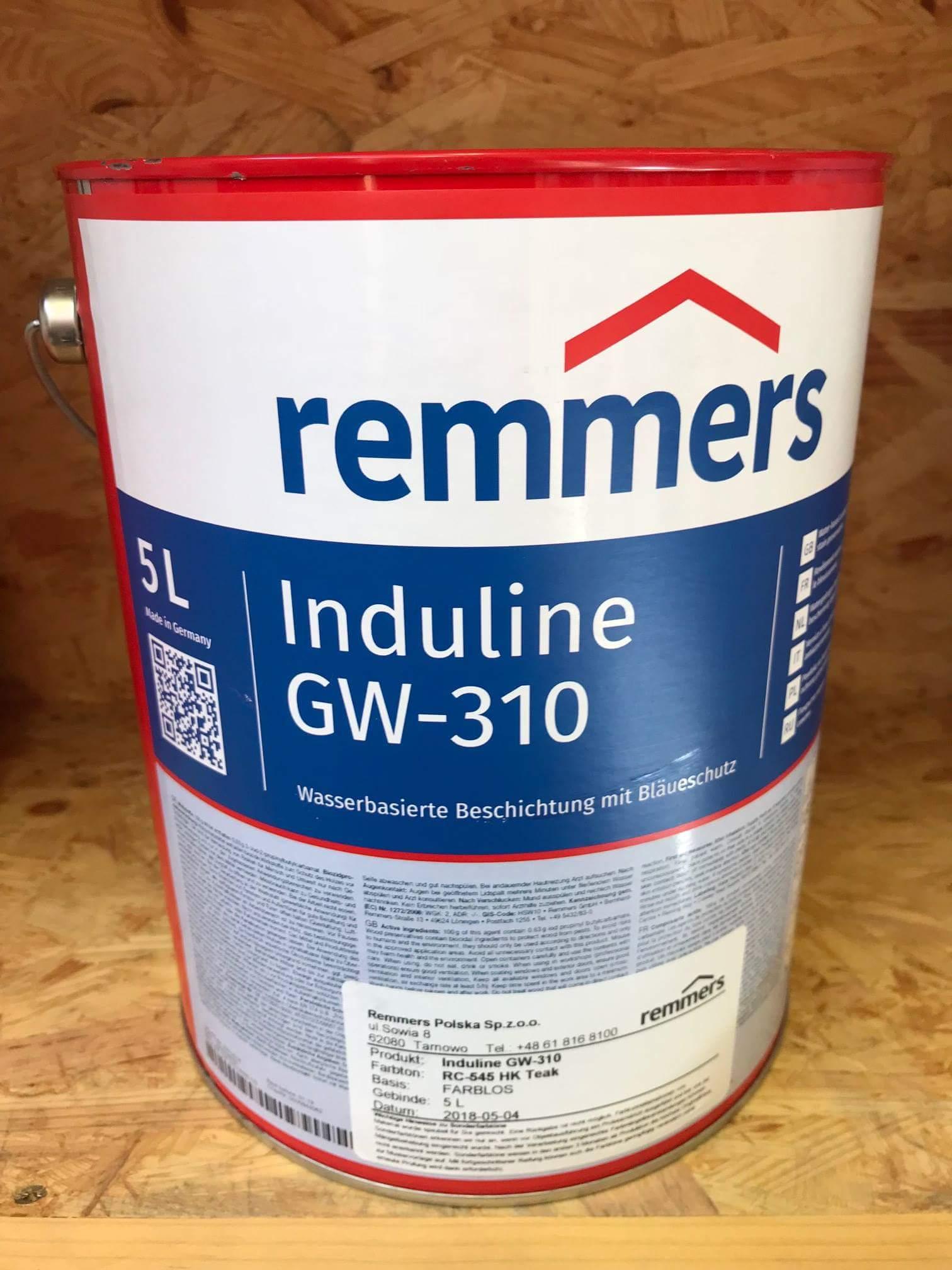 remmers induline gw-310 - barvy na dřevo.cz specialista na nátěry dřeva